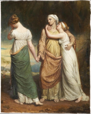 Naomi and her Daughters exhibited 1804 George Dawe 1781-1829 Purchased 1990 http://www.tate.org.uk/art/work/T05746