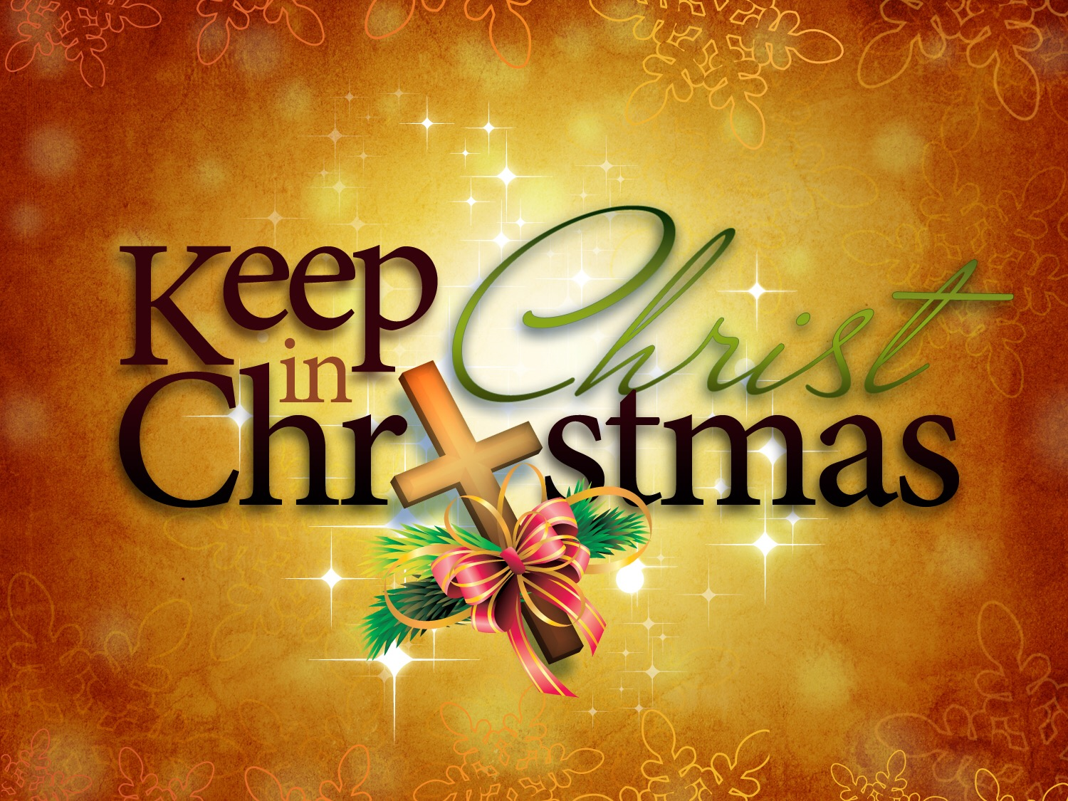 """Keeping Christ in """"Christmas"""" 