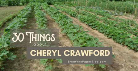 30 Things about Cheryl Crawford - BreathonPaperBlog.com - Photo of Shine Springs Farm by Sheree Martin
