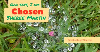 God Says I Am Chosen - Sheree Martin - BreathonPaperBlog.com