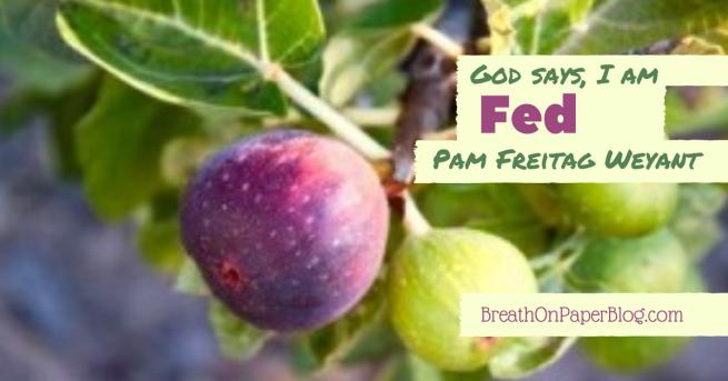 God Says I Am Fed - Pam Freitag Weyant - Breath on Paper Blog
